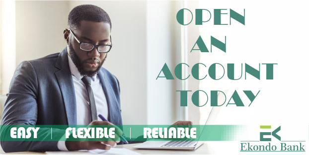 OPEN AN ACCOUNT TODAY